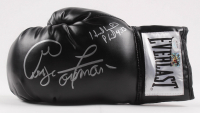 George Foreman & Evander Holyfield Signed Everlast Boxing Glove (JSA COA & Foreman COA)