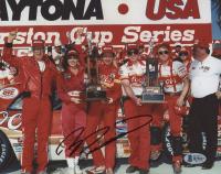 Bill Elliott Signed NASCAR 8x10 Photo (Beckett COA)