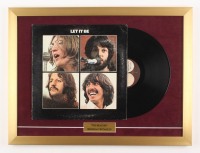 "The Beatles ""Let It Be"" 18x24 Custom Framed Vinyl Record Album Display"