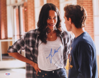 """Tom Holland & Laura Harrier Signed """"Spider-Man: Homecoming"""" 11x14 Photo (PSA COA) at PristineAuction.com"""