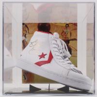 Julius Erving Signed Vintage Converse Basketball Shoe (PSA COA)