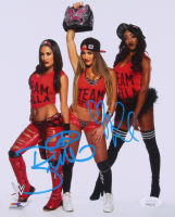 Brie Bella & Nikki Bella Signed WWE 8x10 Photo (JSA COA)