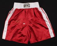 Mike Tyson Signed Boxing Trunks (PSA COA)