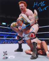 "Sheamus Signed WWE 8x10 Photo Inscribed ""MITB 2018"" (JSA COA)"