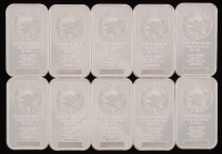Lot of (5) 1 Troy Ounce .999 Fine Silver Sunshine Minting Bullion Bars