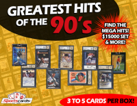 "Sportscards.com ""Greatest Hits of the 90's"" Baseball Autographs & Rare Card Mystery Box!"