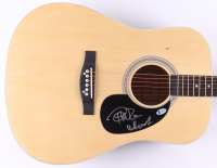 """Cheech Marin & Tommy Chong Signed 41"""" Acoustic Guitar (Beckett COA) at PristineAuction.com"""