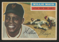 1956 Topps #130 Willie Mays