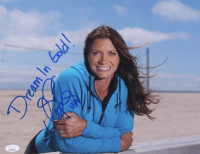 "Misty May-Treanor Signed Team USA 11x14 Photo Inscribed ""Dream in Gold!"" & ""USA"" (JSA COA)"