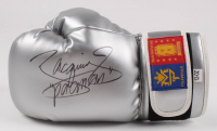 """Manny Pacquiao Signed MP8 Boxing Glove Inscribed """"Pacman"""" (Pacquiao COA)"""