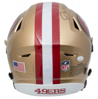 Joe Montana & Jerry Rice Signed San Francisco 49ers Full-Size Authentic On-Field SpeedFlex Helmet (JSA COA) at PristineAuction.com