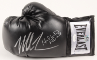 Mike Tyson & Evander Holyfield Signed Everlast Boxing Glove (JSA COA & Fiterman Sports Hologram)