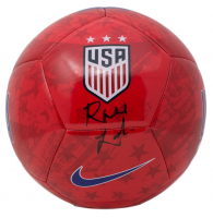 Rose Lavelle Signed Team USA Soccer Ball (JSA COA)