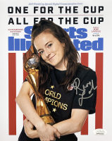 Rose Lavelle Signed Team USA Soccer 8x10 Photo (JSA COA)