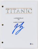 "Leonardo DiCaprio Signed ""Titanic"" Movie Script (JSA COA)"