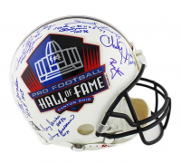 NFL Hall of Famers Full-Size Authentic On-Field Helmet Signed by (13) with Bart Starr, Terry Bradshaw, Eric Dickerson, Otto Graham, Ronnie Lott, Bob Lilly (TriStar Hologram)
