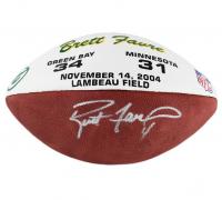 """Brett Favre Signed """"The Duke"""" Official NFL Game Ball (Radtke COA)"""