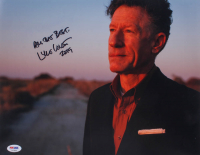 """Lyle Lovett Signed 11x14 Photo Inscribed """"All the Best,"""" & """"2019"""" (PSA COA) at PristineAuction.com"""