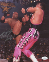 "Bill Goldberg Signed 8x10 Photo Inscribed ""Who's Next"" (JSA COA)"