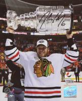 Jordan Hendry Signed Chicago Blackhawks 8x10 Photo (Fanatics Hologram)