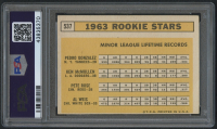 1963 Topps #537 Rookie Stars / Pete Rose RC (PSA 3) at PristineAuction.com