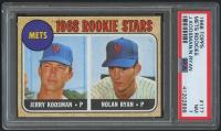 1968 Topps #177 Rookie Stars / Nolan Ryan RC (PSA 7)