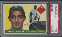 1955 Topps #123 Sandy Koufax RC (PSA 7) at PristineAuction.com