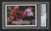 "Greg ""The Hammer"" Valentine Signed 1990 Classic WWF History of WrestleMania #10 (PSA Encapsulated)"