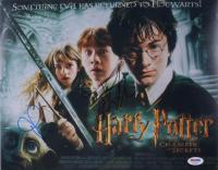"Daniel Radcliffe & Rupert Grint Signed ""Harry Potter and the Chamber of Secrets"" 11x14 Photo (PSA COA)"