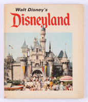 Vintage 1968 Walt Disney's Disneyland Hardcover Book