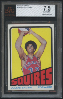 1972-73 Topps #195 Julius Erving RC (BVG 7.5) at PristineAuction.com