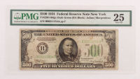 1934 $500 Five Hundred Dollars Federal Reserve Note (PMG 25)