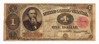 1891 $1 One Dollar U.S. Treasury Bank Note
