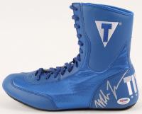 Mike Tyson Signed Title Boxing Shoe (JSA COA)