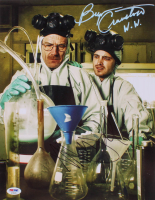 """Bryan Cranston & Aaron Paul Signed """"Breaking Bad"""" 11x14 Photo Inscribed """"W.W."""" (PSA COA) at PristineAuction.com"""