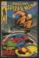 "1970 ""The Amazing Spiderman"" #81 Marvel Comic Book"