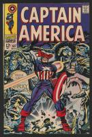 "1968 ""Captain America"" #107 Marvel Comic Book"