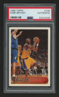 1996-97 Topps #138 Kobe Bryant RC (PSA Authentic)