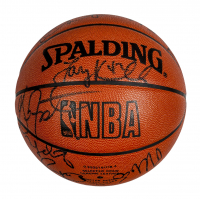 1994–1995 Chicago Bulls NBA Basketball Team-Signed by (13) with Scottie Pippen, Steve Kerr, Toni Kukoc, Ron Harper, B. J. Armstrong (PSA LOA) at PristineAuction.com