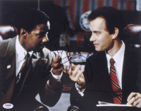 "Tom Hanks & Denzel Washington Signed ""Philadelphia"" 11x14 Photo (PSA Hologram)"
