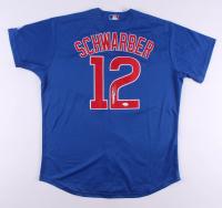 Kyle Schwarber Signed Chicago Cubs Jersey (JSA COA) at PristineAuction.com