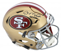 "Joe Montana Signed San Francisco 49ers Full-Size Authentic On-Field SpeedFlex Helmet Inscribed ""HOF 2000"" (Beckett COA)"