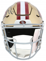 "Joe Montana Signed San Francisco 49ers Full-Size Authentic On-Field SpeedFlex Helmet Inscribed ""HOF 2000"" (Beckett COA) at PristineAuction.com"