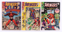 "Lot of (3) 1967-68 ""The Avengers"" Marvel Comic Books with #43, #47 & #54"