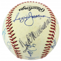 500 Home Run Club ONL Baseball Signed by (12) with Mickey Mantle, Ted Williams, Hank Aaron, Willie Mays, Willie McCovey (PSA LOA) at PristineAuction.com