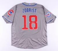 Ben Zobrist Signed Chicago Cubs Jersey (JSA COA)