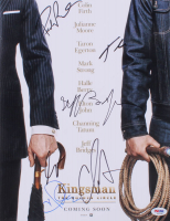 """Kingsman: The Golden Circle"" 11x14 Photo Signed by (6) with Halle Berry, Channing Tatum, Jeff Bridges, Pedro Pascal, Taron Egerton & Colin Firth (PSA Hologram)"