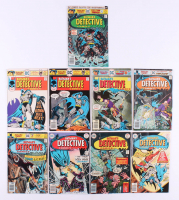 "Lot of (9) 1975-76 ""Detective Comics"" DC Comic Books with #458-#466"