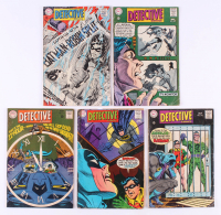 "Lot of (5) 1968 ""Detective Comics"" #375-#379 DC Comic Books"
