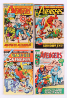 "Lot of (4) 1970-72 ""The Avengers"" Marvel Comic Books with #75, #97, #100, & Annual #3"
